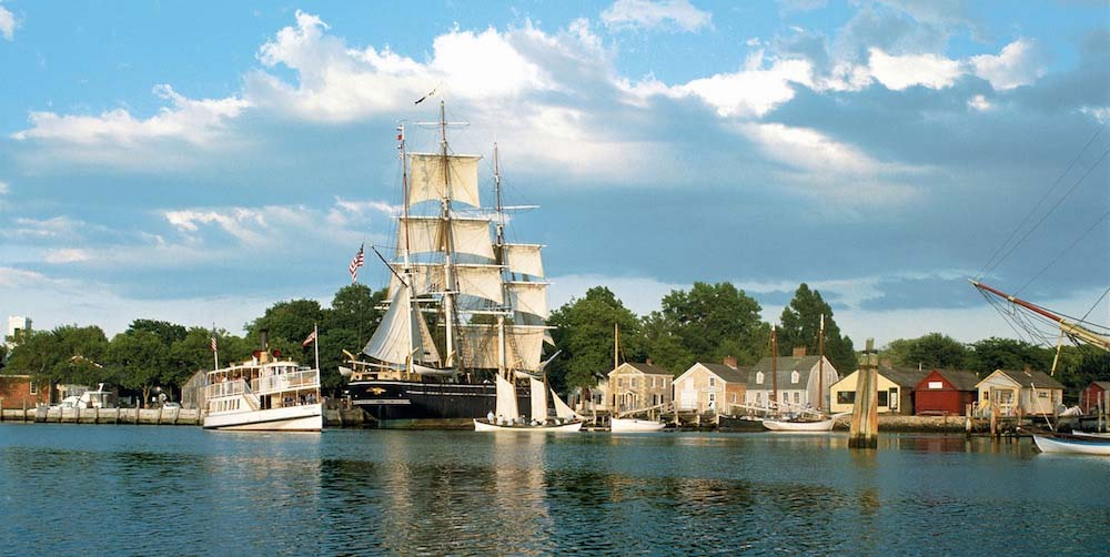 Seaport Aquarium | Maximum Tours The Leader In Student Travel Mystic Seaport Museum